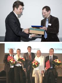 Ralf Krauter Preisverleihung